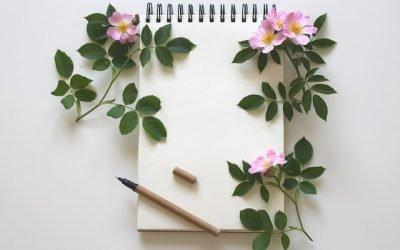 blocco e penna per una scrittura speciale