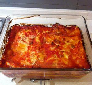 lasagne aproteiche rosse