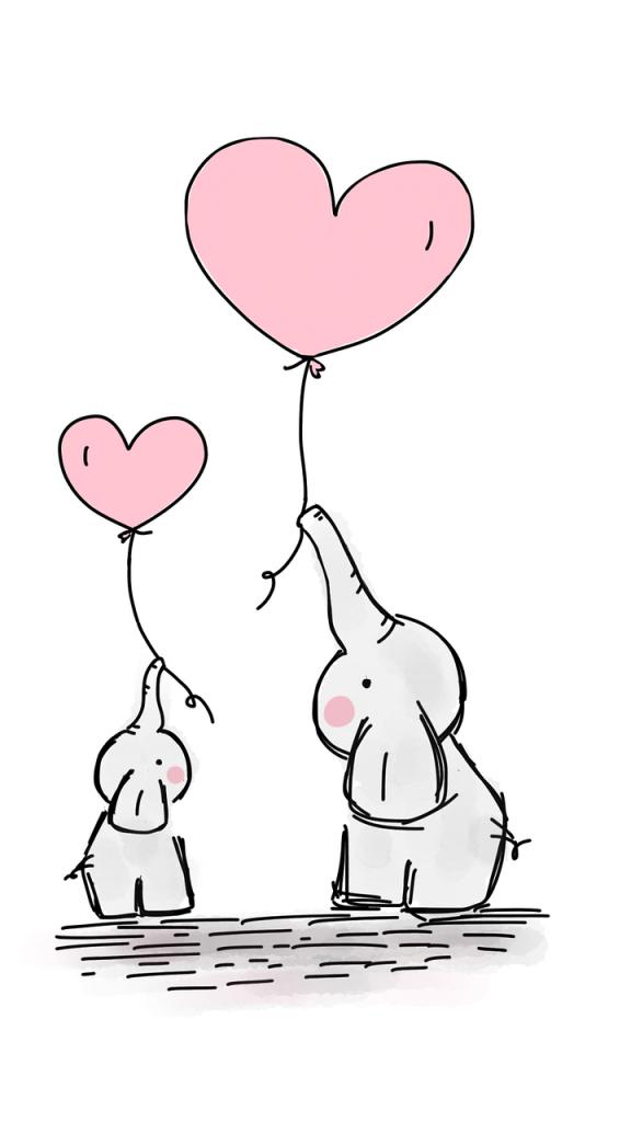 elefanti genitore e figlio si scambiano gesti d'amore