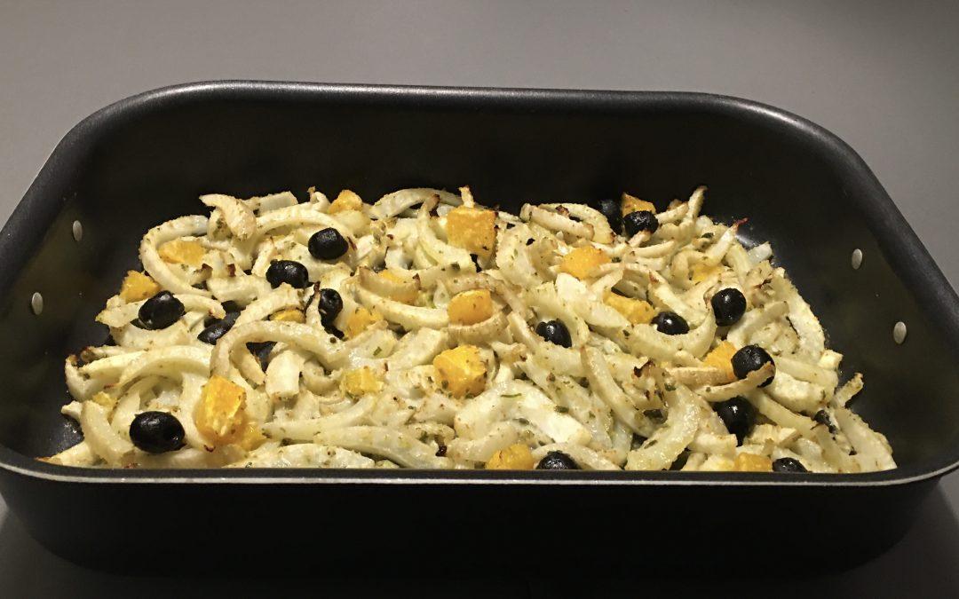 Insalata di finocchi al forno: aproteica-mente buona!
